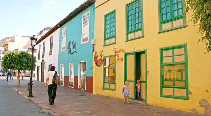 Casas de San Sebastián de La Gomera/Foto María Jesús Tomé