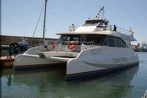 Catamán del Tuna Tour del Grupo Balfegó