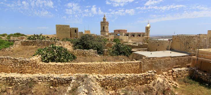 Ciudadela de Victoria, la capital de Gozo/Foto Juan Coma