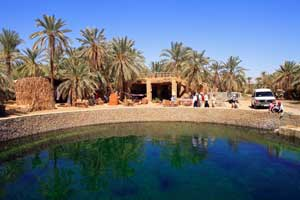 Oasis de Siwa, en Egipto