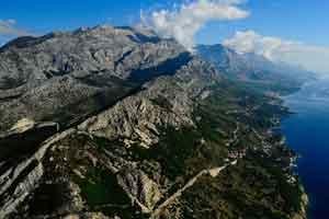 Croacia desde las montañas