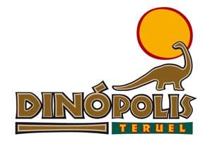 Logotipo del parque paleontológico turolense, Territorio Dinópolis