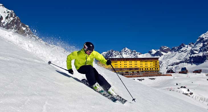 Esquiador © Fotografía Jonathan Selcowitz