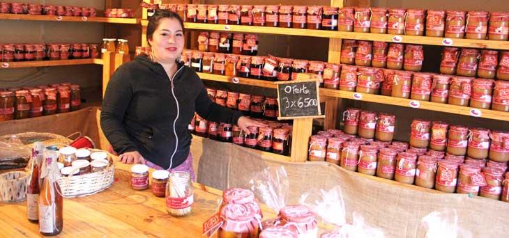 Tienda gourmet en Horcón Frutos del Elqui. © Andrea Sagués