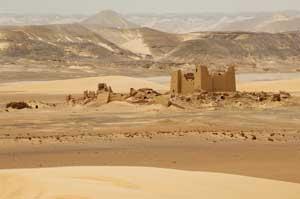 Fuerte de Umm El Dabadib, cerca del oasis de Kharga