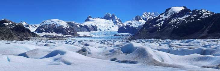 Panorámica del Glaciar Neff/Foto Ronny Belmar