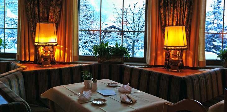 Salón del Hotel Zum Stern, en Badhofgastein