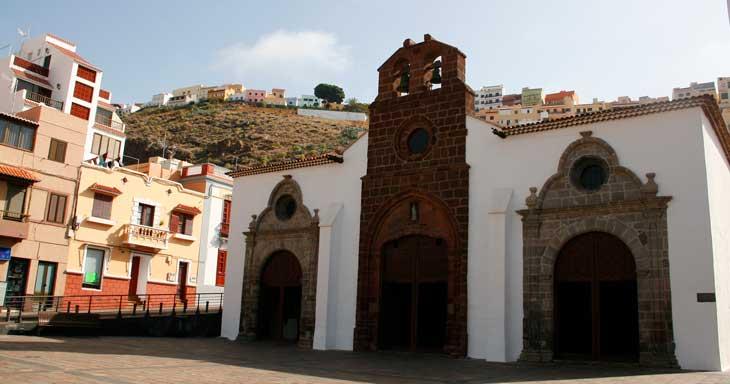 Iglesia de Nuestra Señora de la Asunción de San Sebastián de La Gomera/Foto María Jesús Tomé