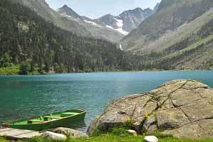 Lago Gaube, en los Altos Pirineos