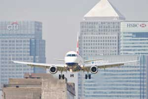 London City Airport (LCY), Reino Unido.