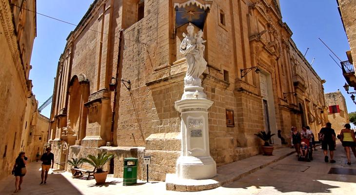 Mdina fue la primera capital de Malta/Foto María Jesús Tomé