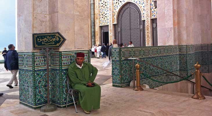 Interior Mezquita de Hassan II/Foto Juan Coma