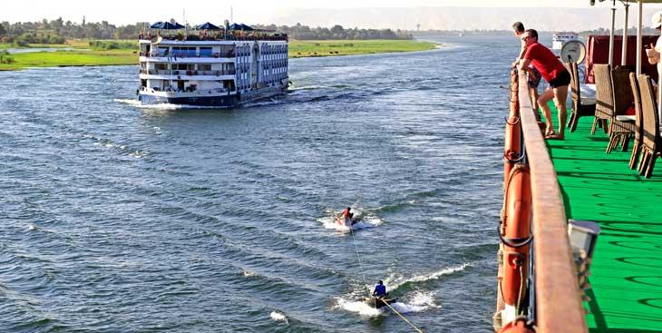 Crucero por el Nilo, el segundo río más largo del mundo/Foto Juan Coma