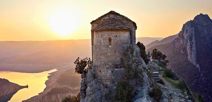 Ermita de la Perussa a la Noguera/Fotos Patronat de Turisme de la Diputació de Lleida