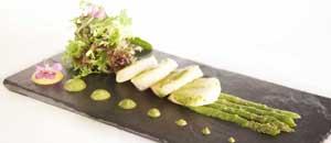 Plato del Restaurante La Cúpula de Andorra