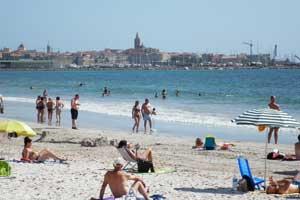 Playa del Alghero, en Cerdeña