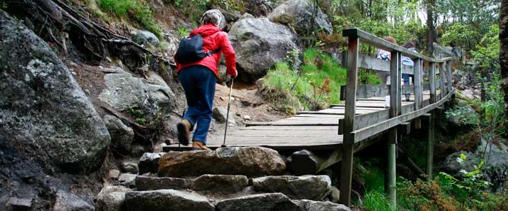 Para subir al Preikestolen hay que realizar un trekking de dos horas de ida y dos de regreso/Foto María Jesús Tomé