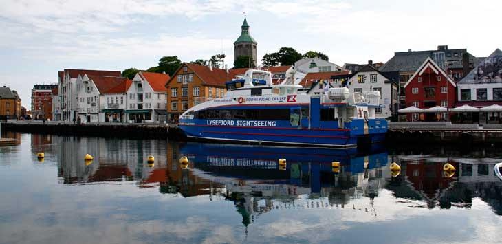 Puerto de Stavanger/Foto María Jesús Tomé