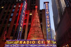 Radio City Hall, en Manhattan (Nueva York)