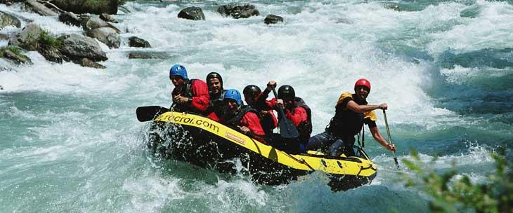 Rafting en el Pallars Sobirà. © Francesc Tur