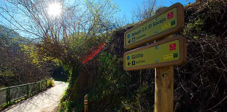 Sendero que lleva al Pico del Gilillo, el más alto de la Sierra de Cazorla pero no del Parque Natural/Foto Promojaen