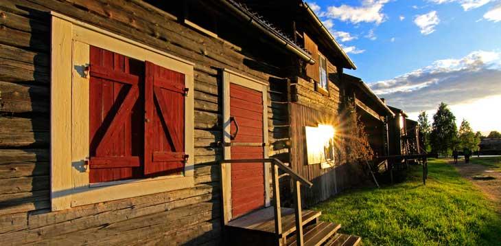 Bonnstan, una de las zonas históricas más importantes de Skellefteå