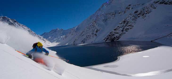 Ski Portillo y Laguna del Inca © Fotografía Rogier van Rijn