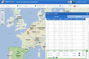 Nace Skypicker.com, un nuevo buscador de vuelos por Europa