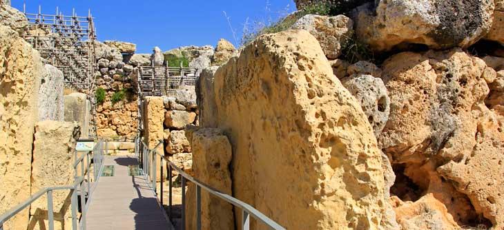 Templos megalíticos de Ggantija/Foto Juan Coma