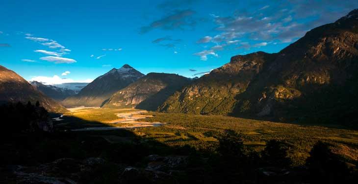 Amanecer en el Valle del Soler, en Chile/Foto Ronny Belmar