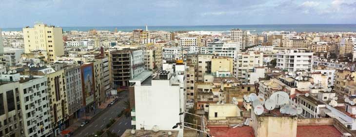 Vista de Casablanca desde el Hotel Barceló/Foto Juan Coma