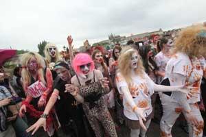 Los zombies invaden Praga