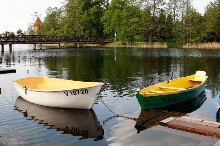 Lago Galve, en Trakai
