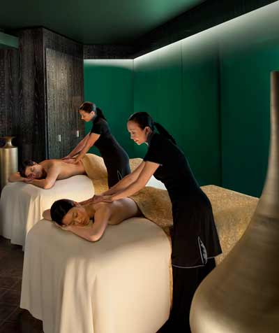Masaje en exclusivo spa del Mandarin Oriental, Barcelona