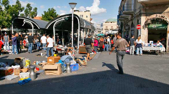 Mercado de las Pulgas en Jaffa, Tel Aviv
