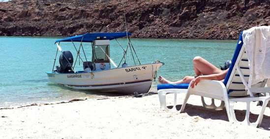 Playa de La Paz en Baja California Sur