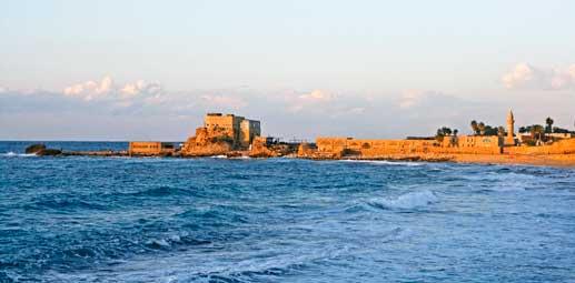 Playa de Cesarea Marítima