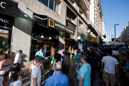 La Tienda National Geographic en Madrid se tematizó durante los meses de mayo y junio con motivos colombianos @ Foto: Miguel A. Muñoz Romero / RVEDIPRESS