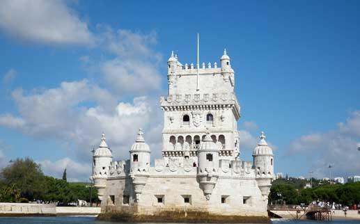 Torre de Belém, ejemplo de arquitectura manuelina