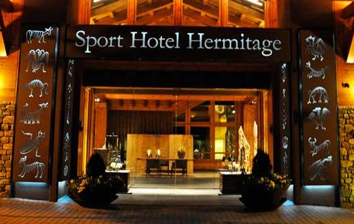 Entrada Sport Hotel Hermitage & Spa