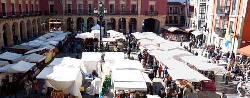 Mercado ecológico y artesano de Gijón
