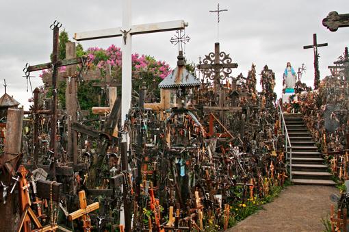 En este lugar hay más de un millón de cruces