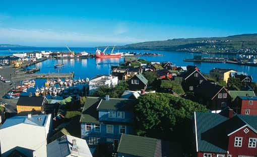Torshavn, capital de las Islas Feroe