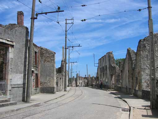 Oradour-sur-Glane, en Francia