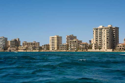 Varosha, en Chipre