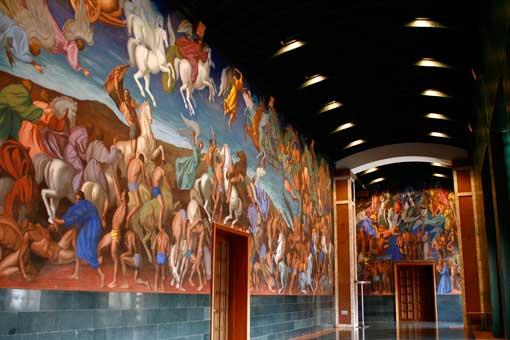 Sala de Pinturas del Teatro Auditorio de la Laboral Ciudad de la Cultura